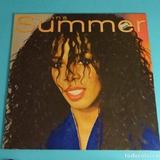 Discos de vinilo: DONNA SUMMER. LOVE IS IN CONTROL. MYSTERY OF LOVE. THE WOMAN IN ME. WEA RECORDS. 1982. Lote 198024651