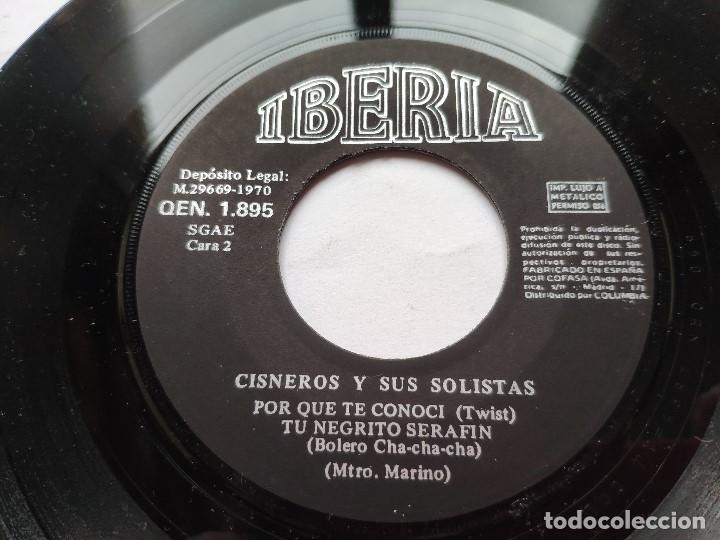 Discos de vinilo: CISNEROS Y SUS SOLISTAS - EP Spain PS - MINT * Los Monosabios * IBERIA 1970 - Foto 3 - 198026297