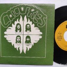 Discos de vinilo: COLORES - EP SPAIN PS - MINT * PROMO * ES MEJOR OLVIDAR. Lote 198026982