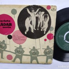 Discos de vinilo: CUARTETO RADAR - EP SPAIN PS - EX * ONLY YOU / ROCK A BEATIN BOOGIE / I LOVE PARIS / LE DONNE .... Lote 198031301