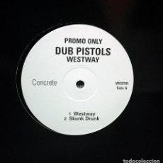 Discos de vinilo: DUB PISTOLS – WESTWAY EP, PROMO UK 1997 . Lote 198037235