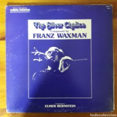 Discos de vinilo: EL CÁLIZ DE PLATA (THE SILVER CHALICE) FRANZ WAXMAN, ELMER BERNSTEIN. Lote 198042630