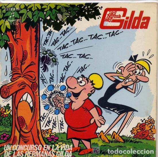 LAS HERMANAS GILDA - UN CONCURSO EN LA VIDA DE LA HERMANAS GILDA / COLUMBIA - AÑO 1971 (Música - Discos - Singles Vinilo - Música Infantil)