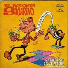 Discos de vinilo: EL BOTONES SACARINO - SACARINO INVENTOR - COLUMBIA * AÑO 1971. Lote 198045927