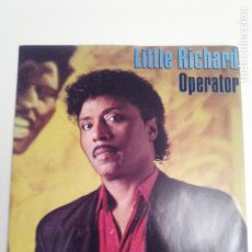 Discos de vinilo: LITTLE RICHARD OPERATOR / BIG HOUSE REUNION ( 1986 WEA UK ) . Lote 198058042