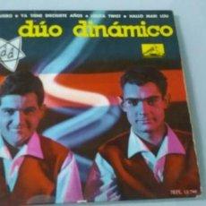 Discos de vinilo: DUO DINAMICO EP QUIERO - YA TIENE DIECISIETE AÑOS- LOLITA TWIST - HALLO MARI LOU .. EP DE 1962 . Lote 198062255