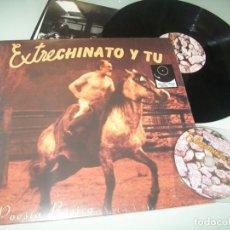 Discos de vinilo: EXTRECHINATO Y TU - POESIA BASICA ..LP NUEVO + CD - EDICION - DRO ..ORIGINAL DE 1991 CON LETRAS. Lote 198064203