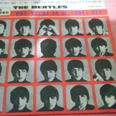 Discos de vinilo: THE BEATLES - QUE NOCHE LA AQUEL DIA ( A HARD DAY´S NIGHT ) .. EP - 1964 EDICION ESPAÑOLA. Lote 198064513