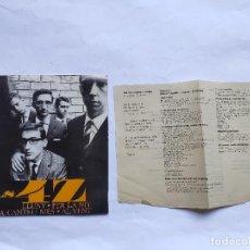 Discos de vinilo: ELS 4 Z - LLUNY - EX (A LA VENTA SOLO LA PORTADA Y LA HOJA INTERIOR, SIN EL EL VINILO). Lote 198067731