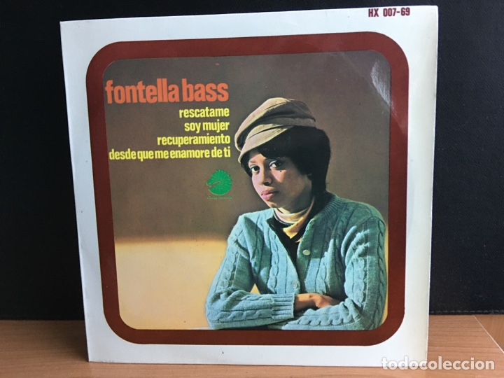 FONTELLA BASS - RESCATAME / SOY MUJER / RECUPERAMIENTO / DESDE QUE ME ENAMORE DE TI (EP) (D:NM) (Música - Discos de Vinilo - EPs - Funk, Soul y Black Music)