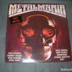 Discos de vinilo: LP METALMANIA-VARIOS ENVIO GRATUITO Y CERTIFICADO. Lote 198103000