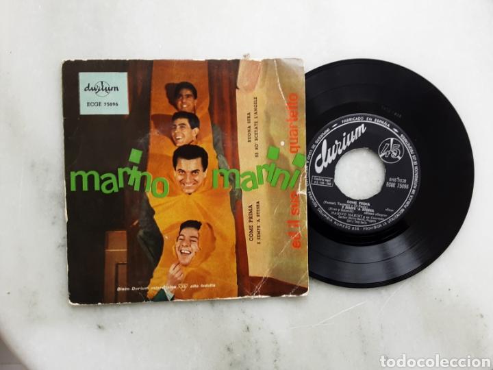 MARINO MARINI COME PRIMA +3 AÑO1958 (Música - Discos de Vinilo - EPs - Canción Francesa e Italiana)