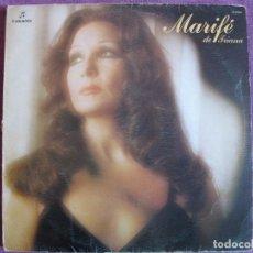 Disques de vinyle: LP - MARIFE DE TRIANA - MISMO TITULO (SPAIN, COLUMBIA 1976). Lote 198105665