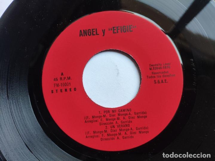 Discos de vinilo: EFIGIE canta ANGEL - EP Spain PS - MINT * POR MI CAMINO / MILAGRO DE AMOR / UN VERANO / TO MALAGA - Foto 3 - 198122791