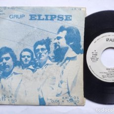 Discos de vinil: ELIPSE - EP SPAIN PS - MINT * PROMO WL * LOLA / LORD KING / AMIGOS / OLOR A TOMILLO * 1971. Lote 198124503