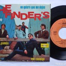Disques de vinyle: THE FINDER' S - EP SPAIN PS - EX * NO QUIERO QUE ME DEJES / VEN CONMIGO / EL CREEP / PAMELA, PAMELA. Lote 198127911