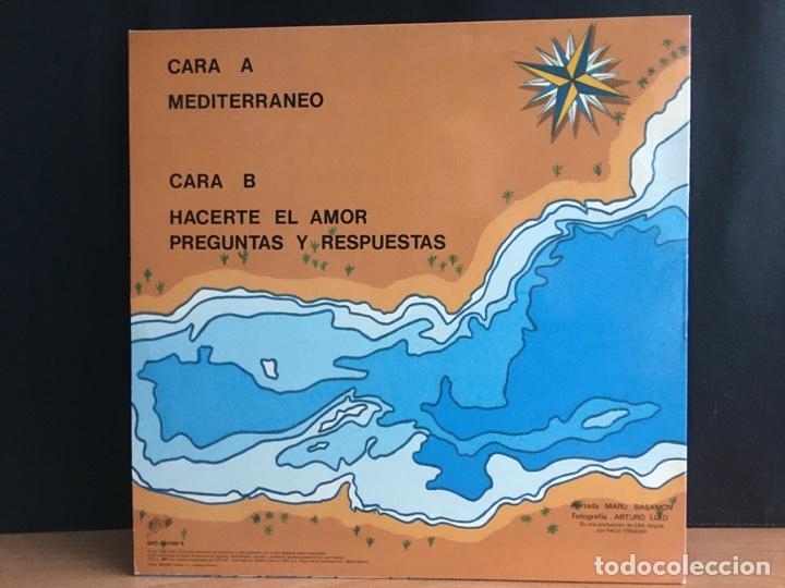 Discos de vinilo: Rebeldes - Mediterraneo (12) (Epic) EPC 6511550 6 (D:Como nuevo) - Foto 2 - 198135566