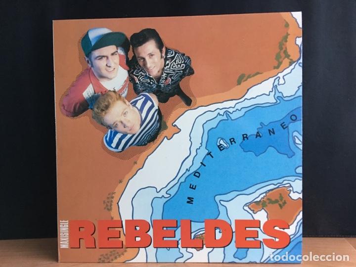 REBELDES - MEDITERRANEO (12) (EPIC) EPC 6511550 6 (D:COMO NUEVO) (Música - Discos de Vinilo - Maxi Singles - Grupos Españoles de los 70 y 80)