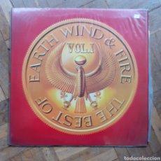 Discos de vinilo: THE BEST OF EARTH WIND AND FIRE. GAREFOLD. CBS S 86078. 1978. FUNDA VG++. DISCO VG++.. Lote 198135796