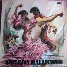 Disques de vinyle: LP - REFLEJOS MALAGUEÑOS - VARIOS (SPAIN, DECCA 1963). Lote 198149895