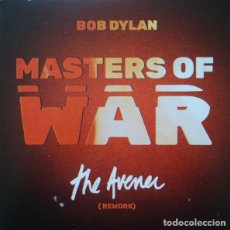 Disques de vinyle: SINGLE BOB DYLAN MASTERS OF WAR THE AVENER RSD 2018 NUEVO PRECINTADO. Lote 198151152