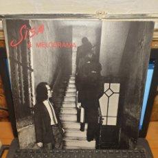 Discos de vinilo: SISA, MELODRAMA. Lote 198153393