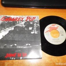 Discos de vinilo: CABARET POP JIMMY SE VA SINGLE VINILO DEL AÑO 1991 DIEGO VASALLO MISMO TEMA DUNCAN DHU. Lote 198155127