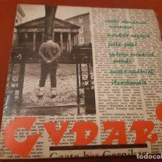 Dischi in vinile: DISCO MUSICA VASCA GUDARI. Lote 198158687
