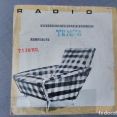Discos de vinilo: SINGLE DE RADIO FUTURA. LA ESTATUA DEL JARDÍN BOTÁNICO Y ROMPEOLAS.. Lote 198163330