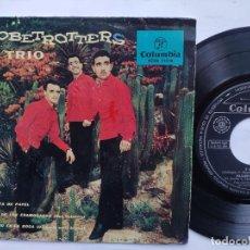 Dischi in vinile: THE GLOBETROTTERS TRIO - EP SPAIN PS - YO / PAJARITA DE PAPEL / EL DIA DE LOS ENAMORADO / UN BESO. Lote 198164393