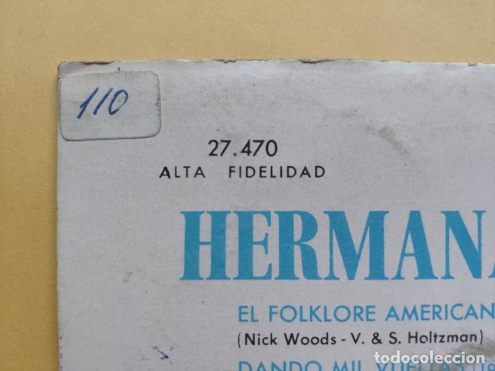 Discos de vinilo: HERMANAS BENITEZ - EP Spain PS - VUELVE, BABY, VUELVE / DANDO MIL VUELTAS / EL FOLKLORE AMERICANO +1 - Foto 6 - 198165506