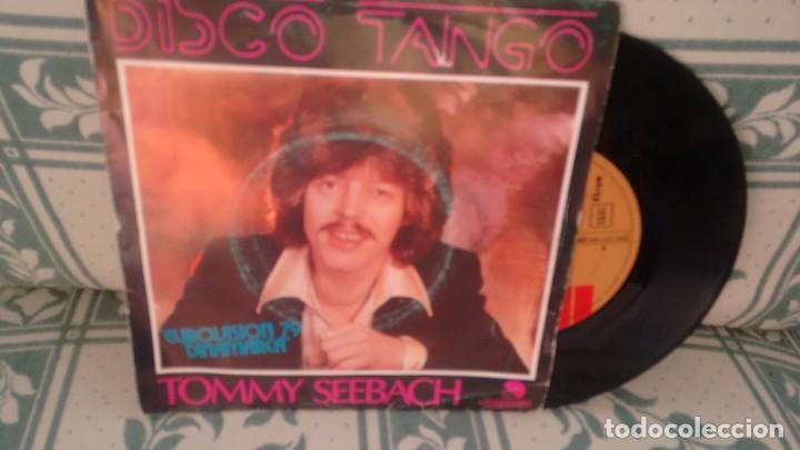 SINGLE ( VINILO) DE TOMMY SEEBACH ( EUROVISION 79) (Música - Discos de Vinilo - Maxi Singles - Festival de Eurovisión)