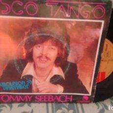 Discos de vinilo: SINGLE ( VINILO) DE TOMMY SEEBACH ( EUROVISION 79). Lote 198174196