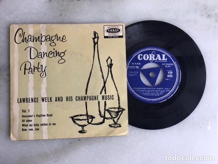 CHAMPAGNE DANCE PARTY LAWRENCE WELK (Música - Discos de Vinilo - EPs - Cantautores Internacionales)