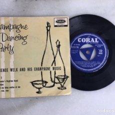 Discos de vinilo: CHAMPAGNE DANCE PARTY LAWRENCE WELK. Lote 198182987