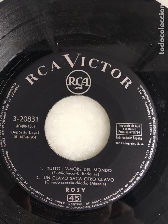 Discos de vinilo: Rosy Tutto l'amore del mondo +3 - Foto 2 - 198183443