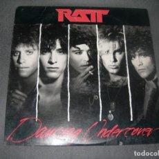 Discos de vinilo: LP RATT-DANCING UNDERCOVER ENVIO GRATUITO Y CERTIFICADO. Lote 237356310
