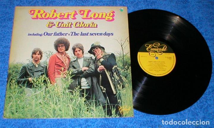 ROBERT LONG & UNIT GLORIA HOLANDA LP 1976 GRANDES EXITOS RECOPILATORIO IMPORTACION RARO !! (Música - Discos - LP Vinilo - Pop - Rock - Internacional de los 70)