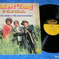 Discos de vinilo: ROBERT LONG & UNIT GLORIA HOLANDA LP 1976 GRANDES EXITOS RECOPILATORIO IMPORTACION RARO !!. Lote 198190828