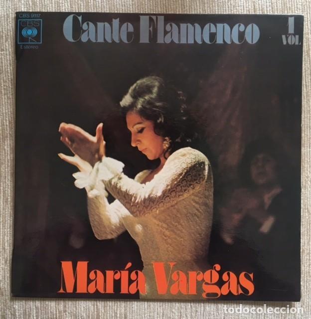 MARÍA VARGAS - CANTE FLAMENCO (Música - Discos de Vinilo - EPs - Flamenco, Canción española y Cuplé)