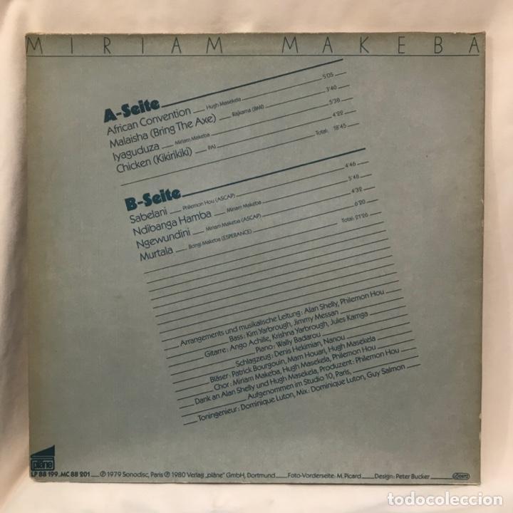 Discos de vinilo: Miriam Makeba African Convention 1980 - Foto 3 - 198202510