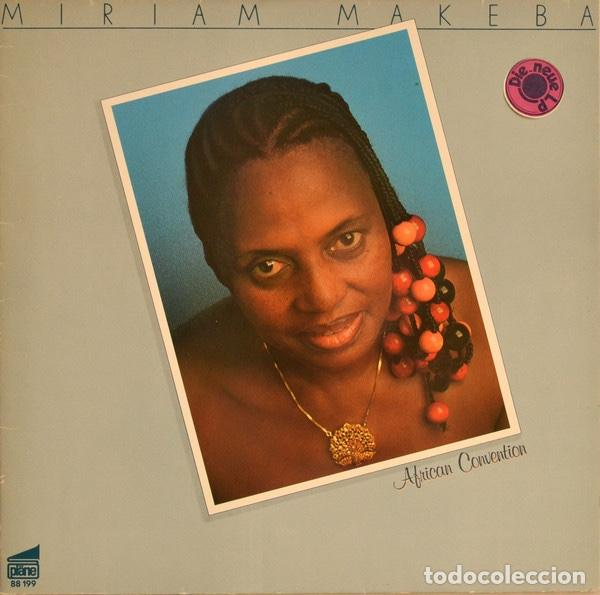 MIRIAM MAKEBA AFRICAN CONVENTION 1980 (Música - Discos - LP Vinilo - Funk, Soul y Black Music)