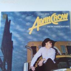 Discos de vinilo: ALVIN CROW AND THE PLEASANT VALLEY BOYS HIGH RIDING ( 1977 POLYDOR USA ) EXCELENTE ESTADO. Lote 198207642