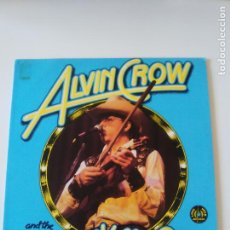 Discos de vinilo: ALVIN CROW AND THE PLEASANT VALLEY BOYS ( 1975 LONG NECK RECORDS USA ) EXCELENTE ESTADO. Lote 198207745