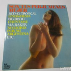 Disques de vinyle: SON TUS PERJUMENES MUJER . LP. Lote 198211092