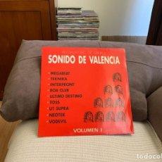 Discos de vinilo: VARIOUS – SONIDO DE VALENCIA VOLUMEN 1. DISCO VINILO. ENTREGA 24. ESTA VG+/VG+. Lote 198223091