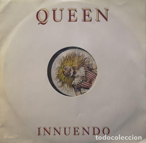 QUEEN FREDDIE MERCURY - INNUENDO - MAXI SINGLE DE 12 PULGADAS PROMOCIONAL INGLES # (Música - Discos de Vinilo - Maxi Singles - Pop - Rock Extranjero de los 70)