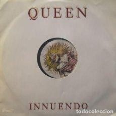 Discos de vinilo: QUEEN FREDDIE MERCURY - INNUENDO - MAXI SINGLE DE 12 PULGADAS PROMOCIONAL INGLES #. Lote 198242228