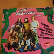 Discos de vinilo: FRANK ZAPPA AND THE MOTHERS OF INVENTION. POP HISTORY VOL 14 LP DOBLE. Lote 198243570