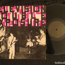 Discos de vinilo: TELEVISION: DOUBLE EXPOSURE (L.P.) FIRST RELEASED 1988 !!!!!! RARE !!!. Lote 198243792